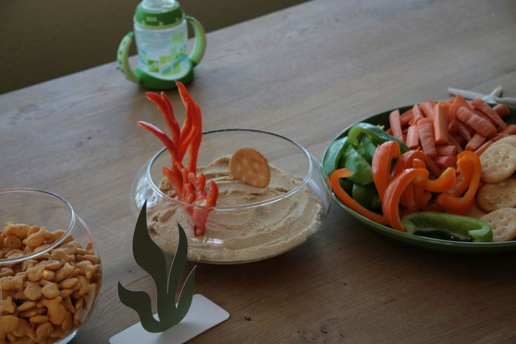 231 best images about 1st birthday ideas on pinterest for Fish themed party food