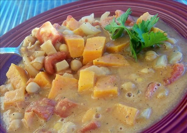 Vegetarian West African Soup. Photo by *Parsley*