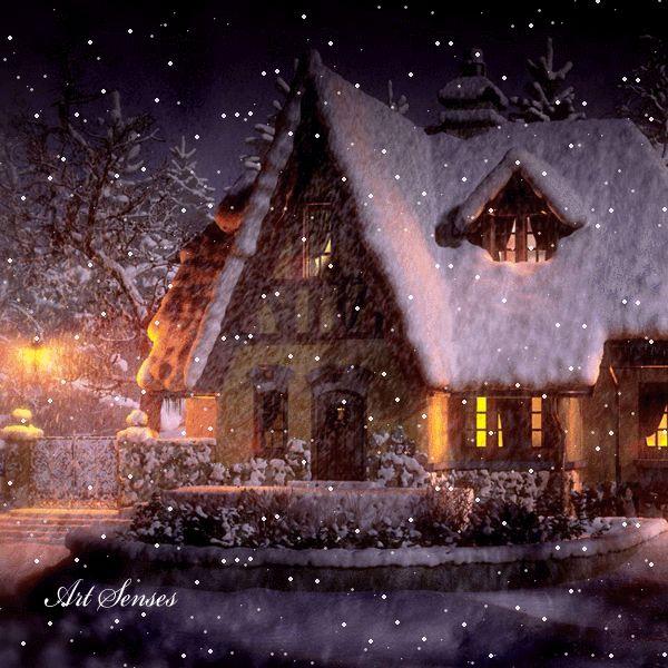Snow Falling Animated Wallpaper Pin Von Anna Petkova Auf Gif Winter Weihnachten