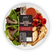 Tesco Finest Cajun Chicken Salad - Surprisingly delicious, great fast food option!