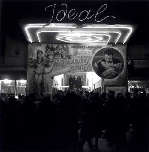 """Cine """"Ideal"""", Panepistimiou Ave (1947) www.ploosdesign.com"""