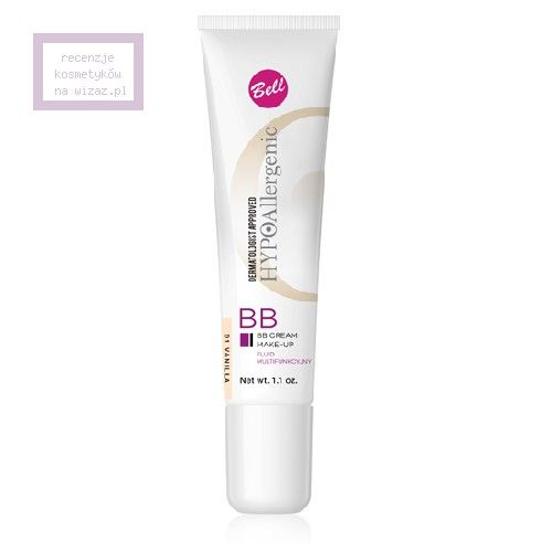 Bell, HYPOAllergenic, BB Cream Make-Up (Hypoalergiczny fluid multifunkcyjny)