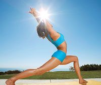 burn 500+ calories yoga routine