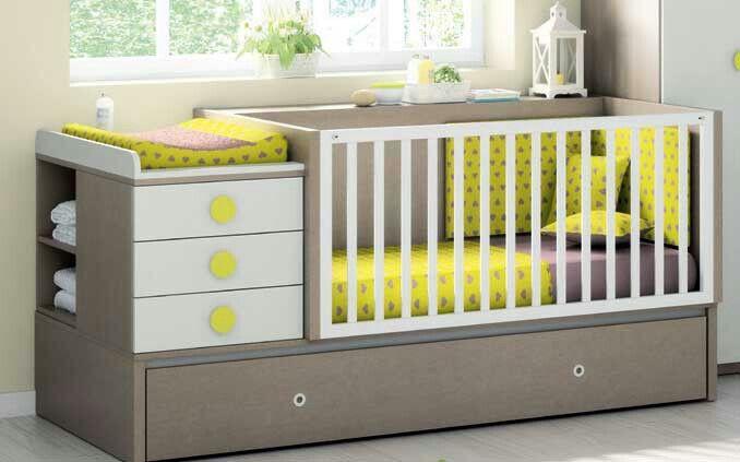17 mejores ideas sobre cama cunas para bebes en pinterest - Cuna o cuna convertible ...