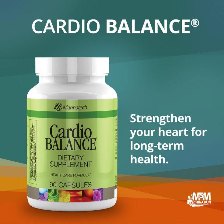 Strengthen your heart for long-term health with Cardio Balance!