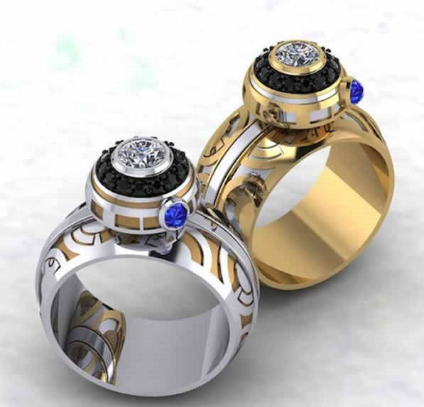 Bague de fiancaille star wars