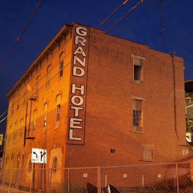 S Mj Adventures Throwbackthursday Is A Pic Of The Old Grandhotel In Hamiltonohio Known As Hotel Atlas During Prohibition It Was Frequented B