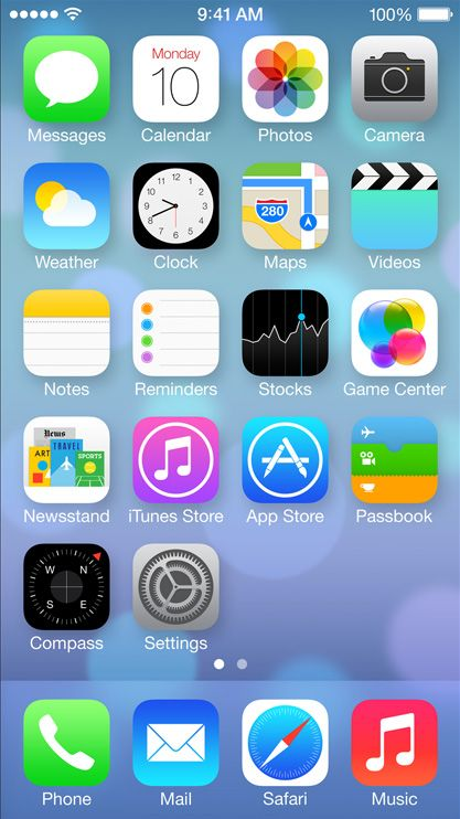 Why does the design of iOS 7 look so different? - The Next Web