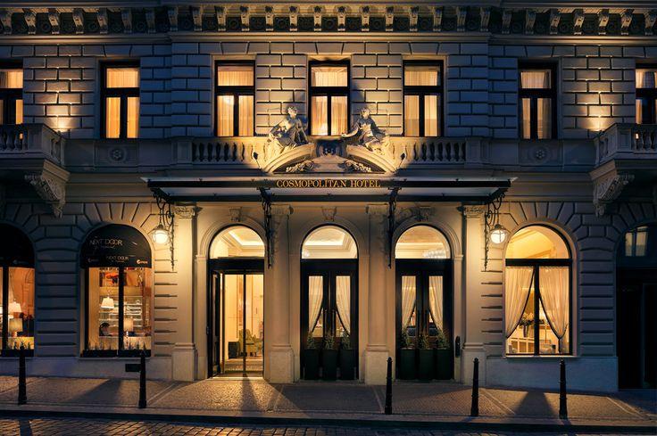 Hotel Cosmopolitan Prague.