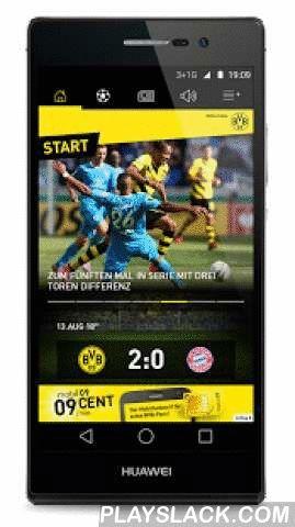 Borussia Dortmund  Android App - playslack.com ,  Danke, dass Du die offizielle BVB-App nutzt.Wir freuen uns, Dir heute ein umfangreiches Update präsentieren zu können!Spieltage sind für uns immer Feiertage. Deswegen gibt es in diesem Update für alle Spieltage den ganz besonderen Feiertags-Modus: Je nachdem, wo Du das Spiel verfolgst – ob im Stadion, am TV/Radio oder unterwegs - bekommst Du die für Dich passenden News, Bilder, Posts, Tweets, Statistiken und vieles mehr! Und das nicht nur…