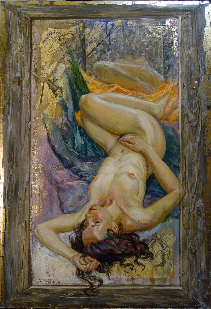 Костылев Дмитрий (DmitryKostylew) /мечтающая #обнаженная #nude #figure #girl #art #Dmitry_Kostylew
