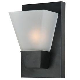 20 60w 552 in w 1 light matte black pocket hardwired wall sconce basement lighting options 1