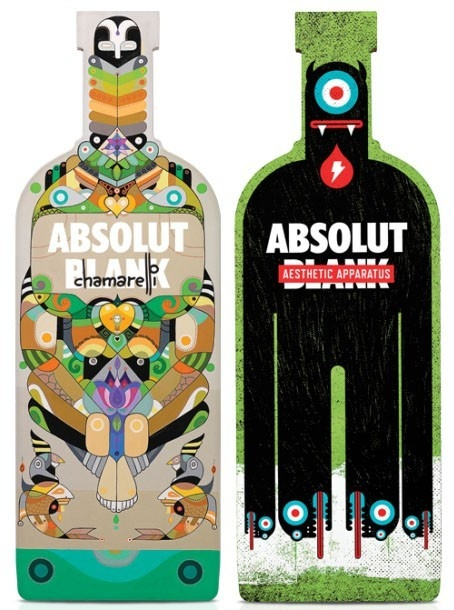 Diseño botella Absolut