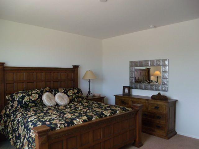 Master Bedroom in Dorn Homes' Chardonnay model in Bella Vista North