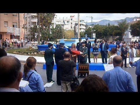 12 de octubre, 'Día de la Hispanidad' y 'Fiesta Nacional de España'.wmv - YouTube- HOMENAJE A LA BANDERA