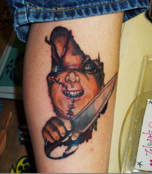 Creepy Chucky Tattoos - Inked Magazine Photos
