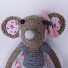 Amigurumi, capucine la souris, ballerine, au crochet