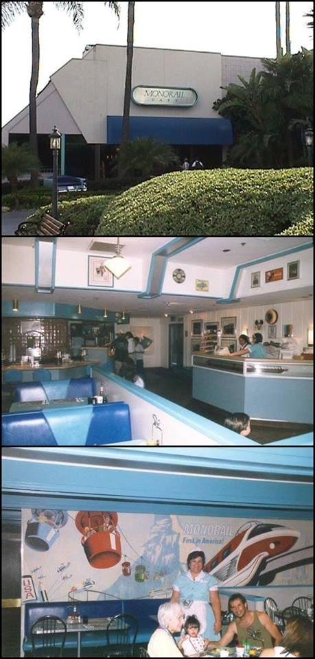 The Monorail Cafe at the Disneyland Hotel closed in 1999.  I loved it!