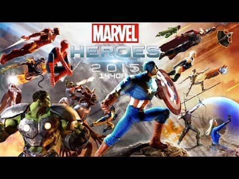 Marvel Heroes 2015 PC Gameplay 1440p