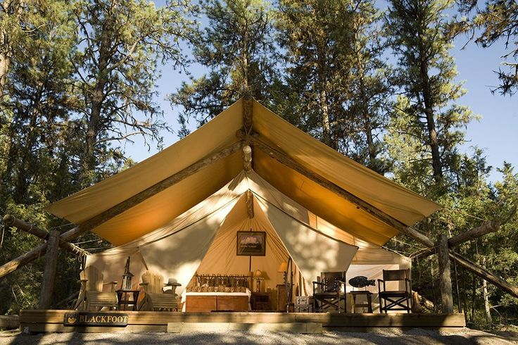 In the nine years since it opened, the Resort at Paws Up—a 37,000-acre working cattle ranch between Helena and Missoula, in western Montana—has become the ne plus ultra of American glamping destinations