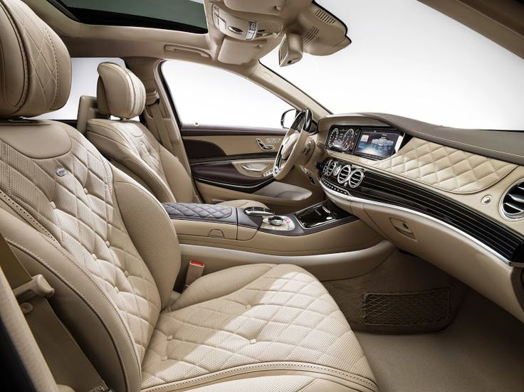 mercedes maybach s class interior