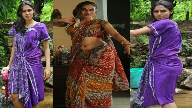 PART-2 ANDREA JEREMIAH CUTE&HOT PHOTOS IN SAREE WITH SEXY WIDE HIP&MODER...