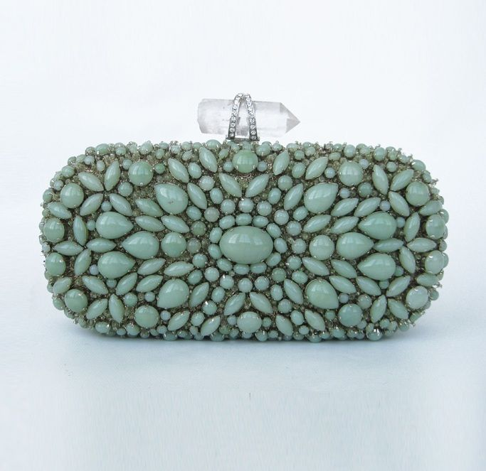 Turquoise minaudiere by Marchesa: Fashion Style, Beads Clutches, Hands Jewelry, Turquoi Clutches, Clutches Bags, Accessories, Marchesa Clutches, The Sea, Small Bags