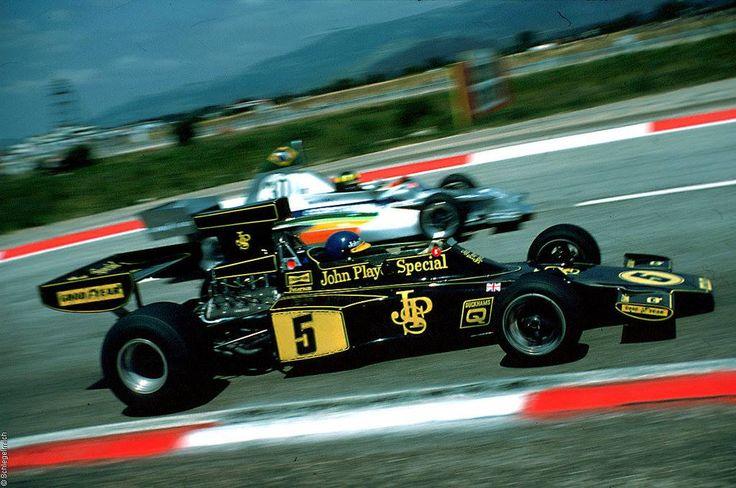 Ronnie Peterson & Wilson Fittipaldi - Grand Prix de France - Circuit Paul Ricard 1975