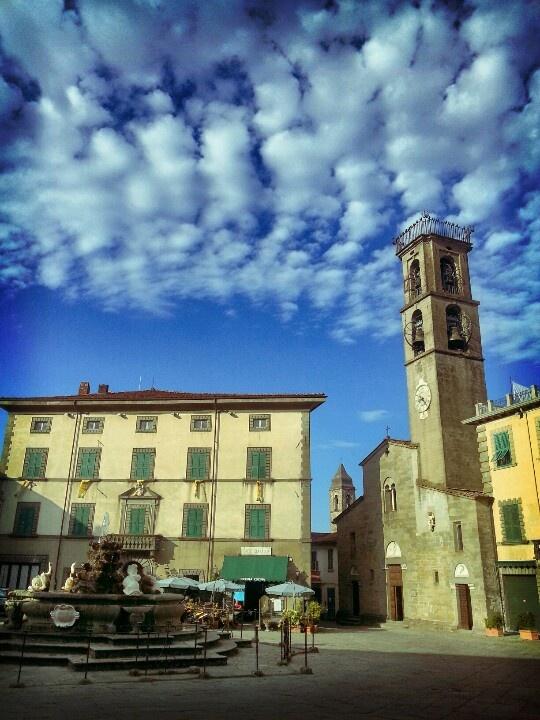 Piazza Medicea  #Fivizzano
