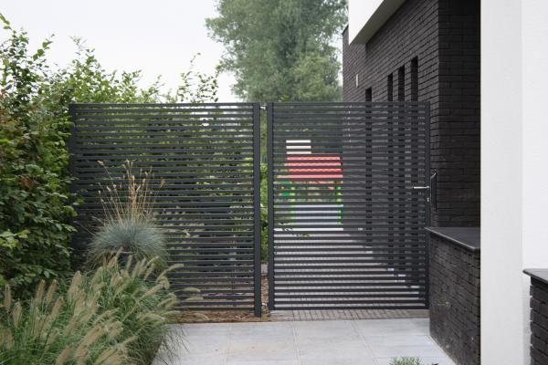 17 beste idee n over poorten op pinterest staal houten poorten en tuin poorten - Modern tuinbekken ...