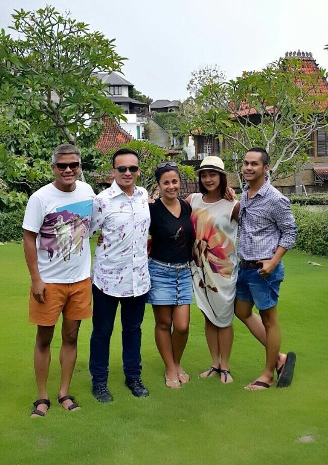 After meeting with vendors for O&T Wedding Anniv at Jimbaran #Bali
