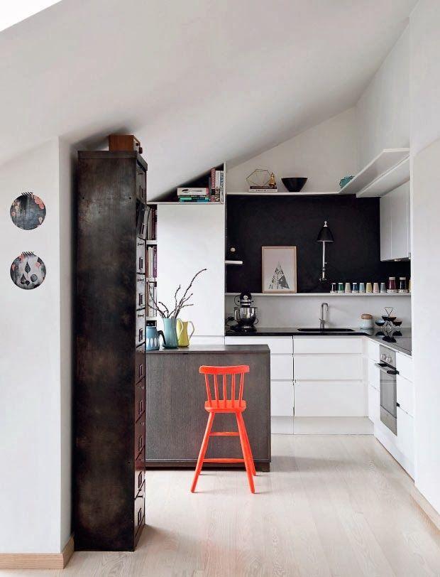 chic ada: Nejen pastelové barvy v bytě