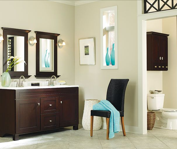 Diamond FreshFit at Lowe s   Palencia Collection  A deep cherry stain   substantial yet simple. 17 best images about In Stock Vanities   Diamond FreshFit at