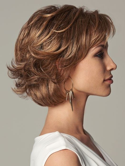 Everyday Elegant Synthetic Lace Front Wig Mono Part Hari Style
