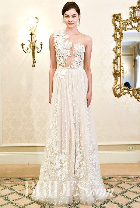 Brides.com: . Wedding dress by Alon Livné