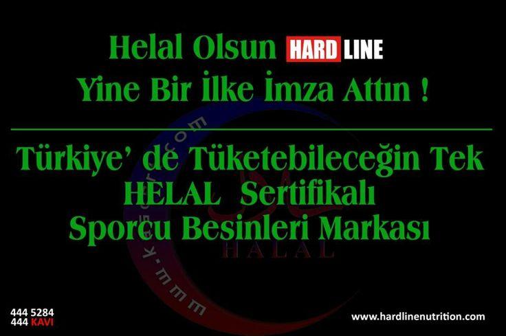 Helal Olsun, Türkiyenin TEK HELAL Sertifikalı Sporcu Besinleri Markası www.hardlinenutrition.com