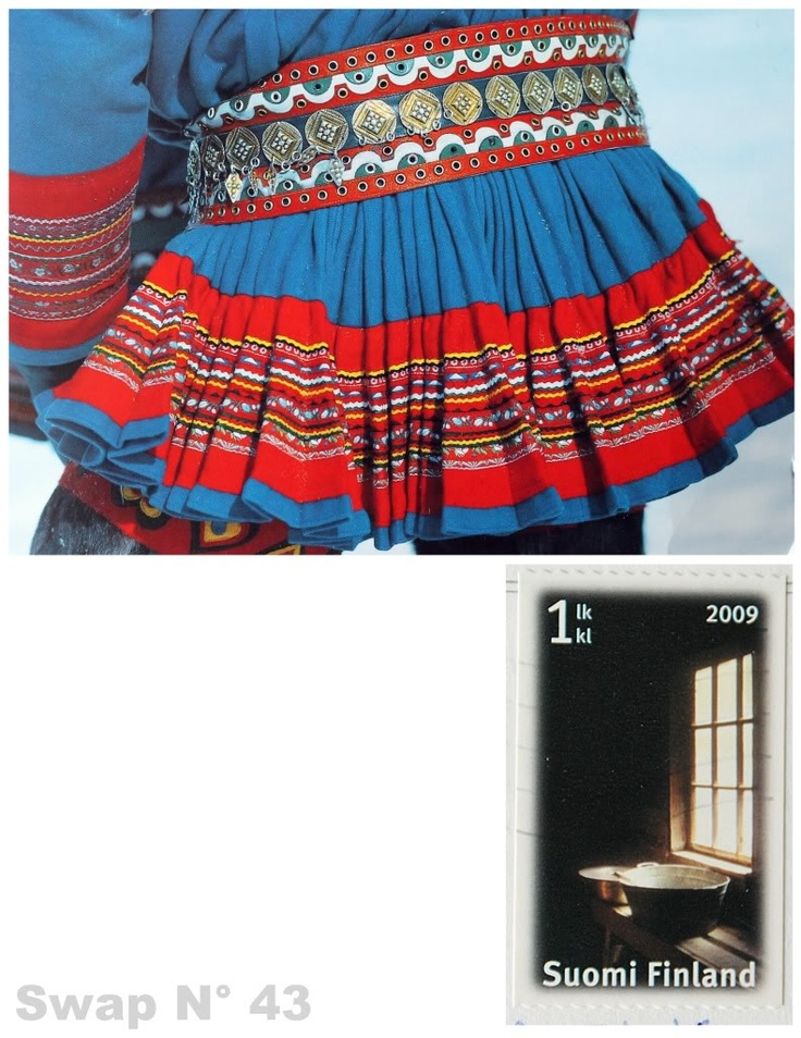 Gákti is a piece of traditional clothing worn by the Sámi in northern areas of Norway, Sweden, Finland and the Kola Peninsula in Russia. The gákti is worn both in ceremonial contexts and while working, particularly when herding reindeer. The traditional Sami costume is characterized by a dominant color adorned with contrast colored bands, plaits, pewter embroidery, tin art, and often a high collar. In the Norwegian language it is called kofte. The colours, patterns and the jewellery of…