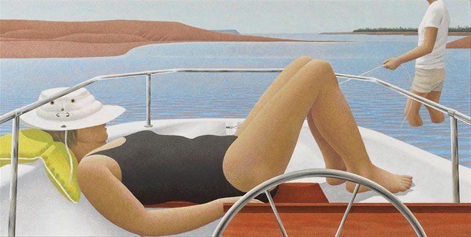 Alex Colville, Low Tide, 1987