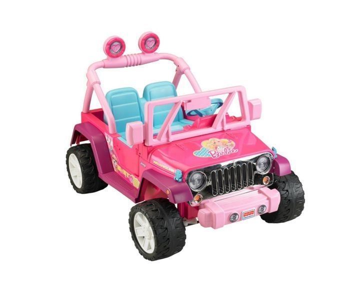 Electric Cars for Kids To Ride Jeep Power Wheels Toys Toddlers Girls 12V Battery #PowerWheels