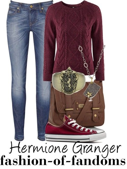 Hermione Granger. Can't have too many Hermione outfits.