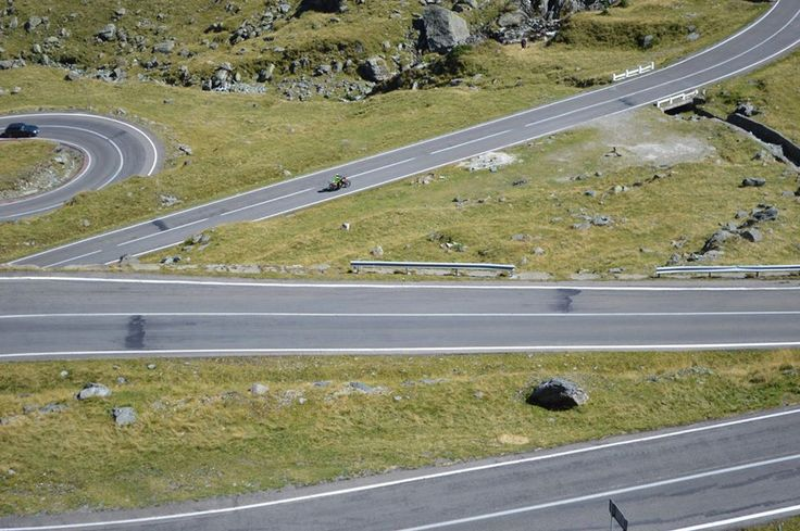 Best of Transylvania Motorcycle Tour, the best roads to ride in Europe and some of the best in the World. Here on Transfagarasan Road Romania.