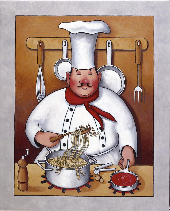 Смешные рисунки поваров