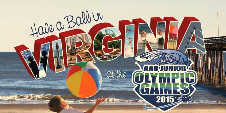 Have a Ball in Virginia at the AAU Junior Olympic Games 2015