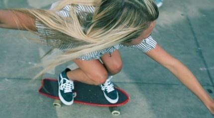 vans+girl+skateboard