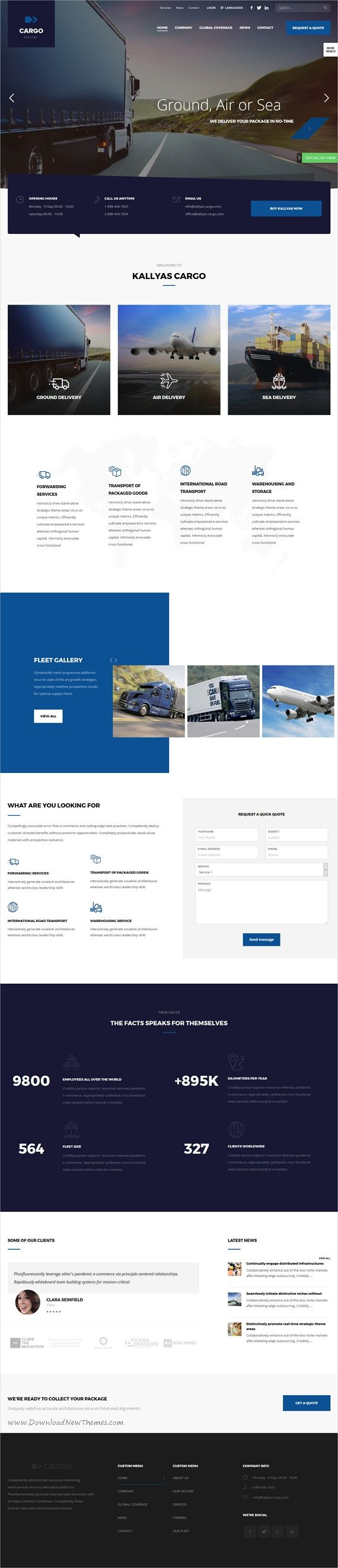 Kallyas is a creative and beautifully design responsive #WordPress theme for #cargo #logistic #transport companies stunning websites with 35+ multipurpose niche homepage layouts download now➩ https://themeforest.net/item/kallyas-responsive-multipurpose-wordpress-theme/4091658?ref=Datasata