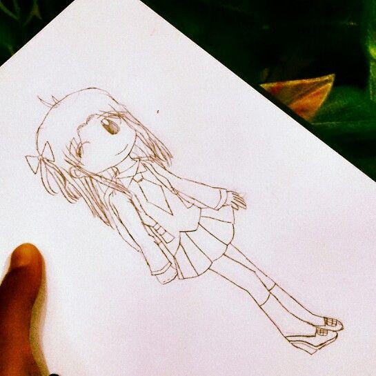 Ann Chan, tokoh komik....by talitha