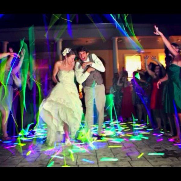 The North S Bride Glow Stick Wedding