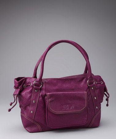 Love a purple bag!