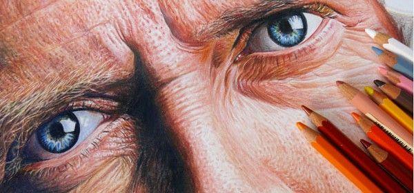 Découvrez le travail de Nestor Canavarro, illustrateur argentin. Avec des crayons gras, il crée des dessins stupéfiants, vous n'en croirez pas vos yeux.    S'agit-il de dessins ou de photos? Essayez de deviner!      1. House MD (Hugh Laurie)                2.