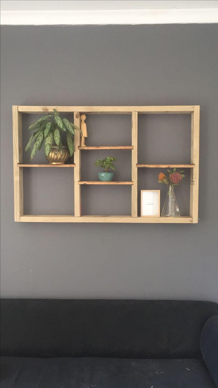 Reclaimed shelf unit